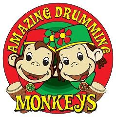 amazing drumming monkeys